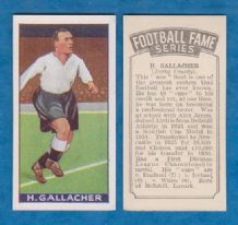 Derby County Hughie Gallacher Scotland